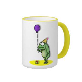 Rana del fiesta taza de dos colores