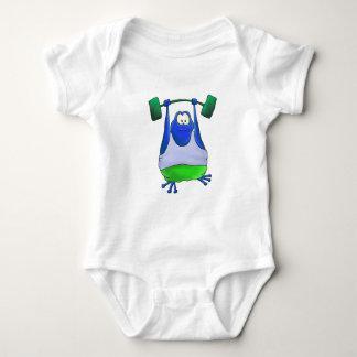 Rana del levantamiento de pesas body para bebé