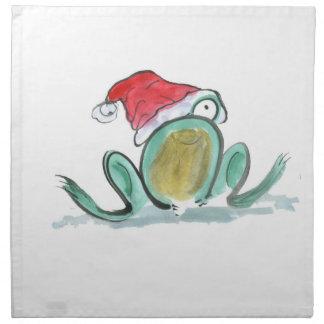Rana del navidad, Sumi-e Servilleta
