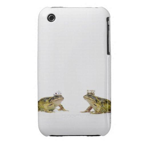 Rana del rey y de la reina que mira uno a funda para iPhone 3 de Case-Mate