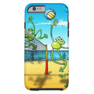 Rana del voleibol funda resistente iPhone 6