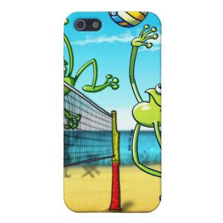 Rana del voleibol iPhone 5 carcasa