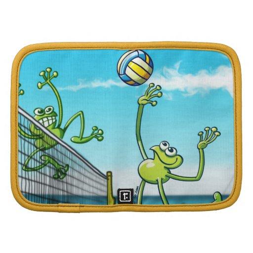 Rana del voleibol planificadores
