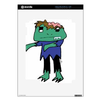 Rana del zombi calcomanías para iPad 2