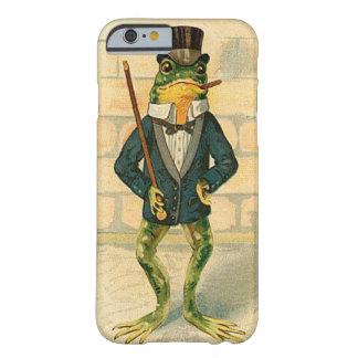 Rana divertida del vintage funda barely there iPhone 6