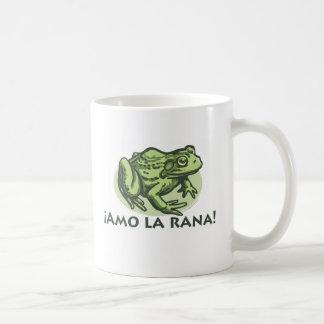Rana española - taza de las ranas del amor de I