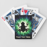 Rana fresca baraja de cartas