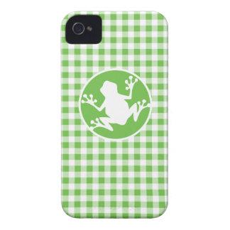 Rana Guinga verde Case-Mate iPhone 4 Cárcasas