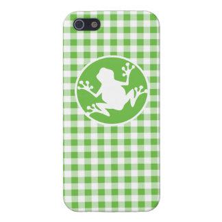 Rana Guinga verde iPhone 5 Coberturas