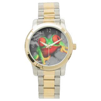 Rana Insecto-Observada Reloj De Mano