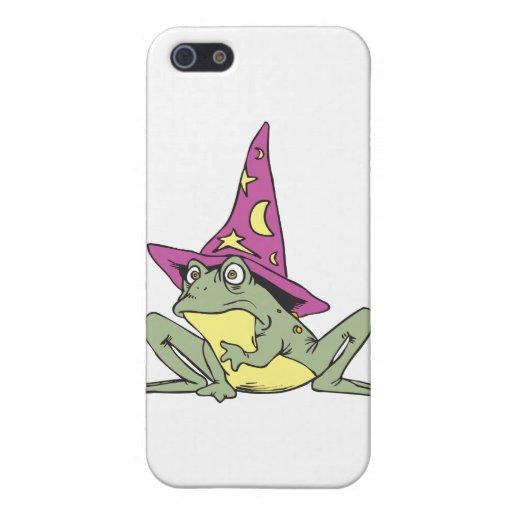 Rana mágica iPhone 5 carcasas