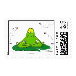 Rana Meditating Franqueo