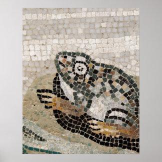 Rana mosaico del Nilo de la casa del fauno Impresiones