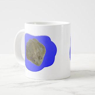 Rana mugidora en taza de la charca taza grande