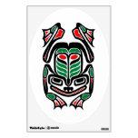 Rana nativa del arte del Haida - ennegrézcase en b