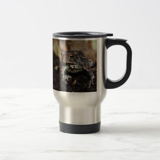 Rana oscura taza de café