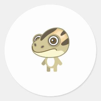 Rana pintada asiático - mi parque de la protección etiqueta redonda