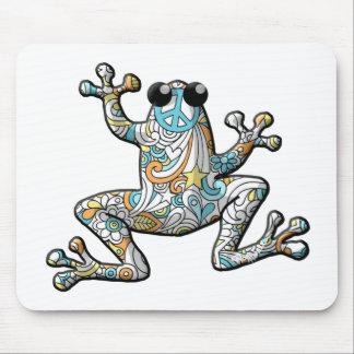 Rana psicodélica de Paisley Mousepad