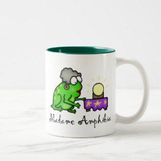Rana psíquica tazas de café