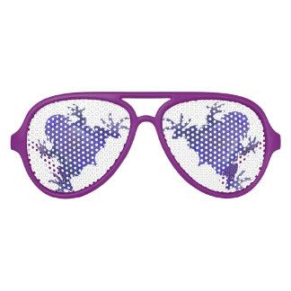 Rana púrpura gafas de sol