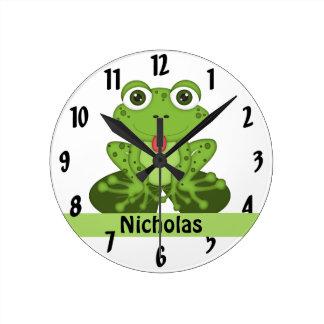Rana Reloj Redondo Mediano