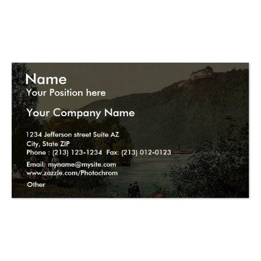Rana Riedl, Upper Austria, Austro-Hungary rare Pho Business Card Template