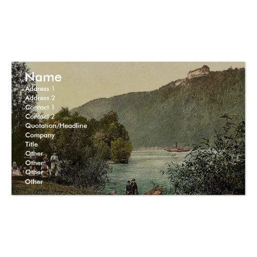 Rana Riedl, Upper Austria, Austro-Hungary rare Pho Business Card Templates