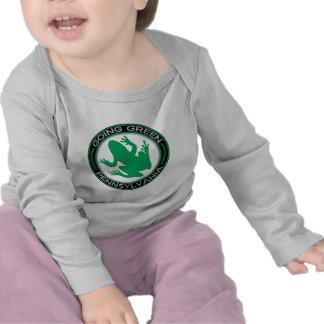 Rana verde de Pennsylvania que va Camiseta