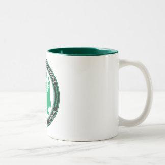 Rana verde de Pennsylvania que va Tazas De Café