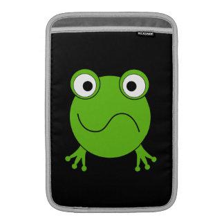 Rana verde. El parecer confundido Fundas Macbook Air