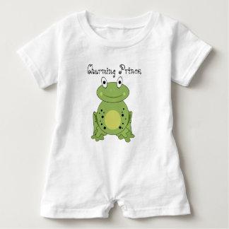 Rana verde encantadora de príncipe Cute Remeras
