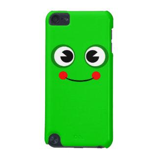 Rana verde feliz