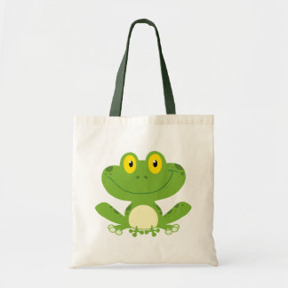Rana verde linda bolsas
