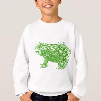 Rana verde sudadera