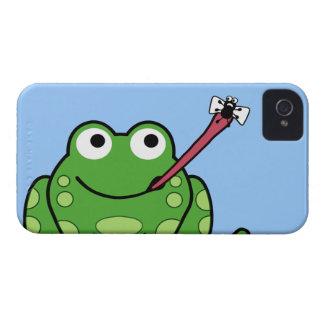 Rana y mosca Case-Mate iPhone 4 coberturas