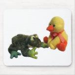 Rana y pato tapete de raton