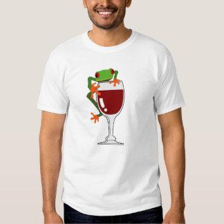 Rana y vino playera