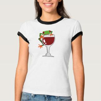 Rana y vino playeras