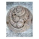 Ranakpur Jain Temple Interior Ceiling Design Postcard