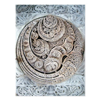 Ranakpur Jain Temple Interior Ceiling Design Postcard