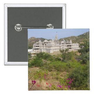 Ranakpur Jain Temple, Ranakpur, Rajasthan, India Pinback Button