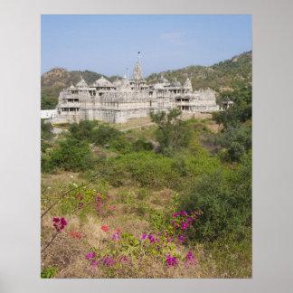 Ranakpur Jain Temple, Ranakpur, Rajasthan, India Poster