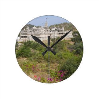 Ranakpur Jain Temple, Ranakpur, Rajasthan, India Round Clock