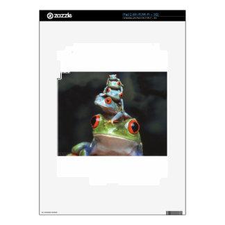 Ranas apiladas calcomanía para iPad 2