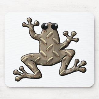 Ranas de la placa del diamante mouse pads