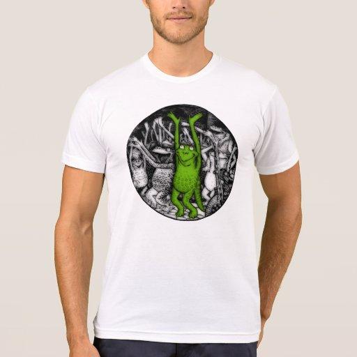 Ranas que animan camiseta