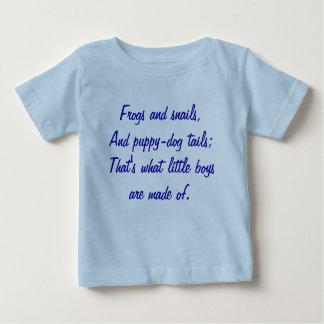 Ranas y caracoles, y colas del perrito-perro; Ése Tee Shirt