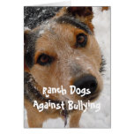 Ranch Dogs Against Bullying - Cowboy Parenting Greeting Cards