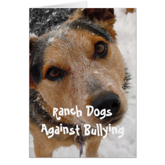 Ranch Dogs Against Bullying - Cowboy Parenting Card