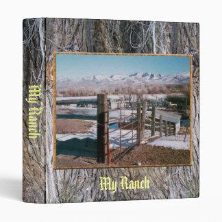Ranch Hill View 3 Ring Binder